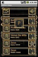 Screenshot of Golden Dialer