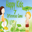 Happy Kids Find Differences