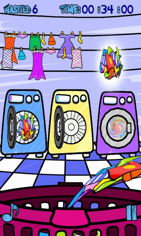 Wash Machine Free- screenshot