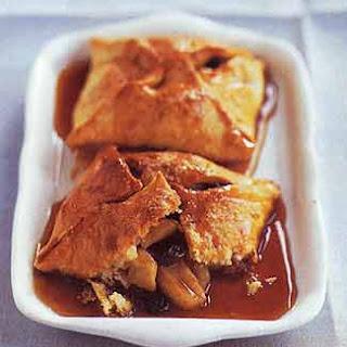 Old-Fashioned Apple Raisin Dumplings.