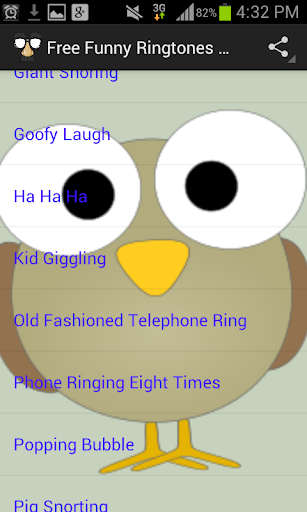 Free Funny Ringtones