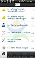 Screenshot of EmploiEnergie
