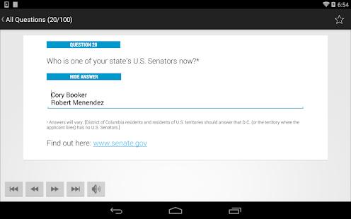 US Citizenship Test 2014 Audio