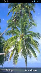 Paradise Live Wallpaper screenshot