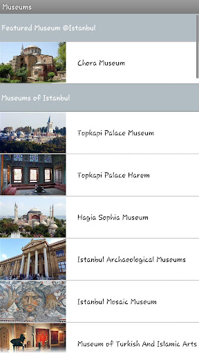 Museums of Turkey