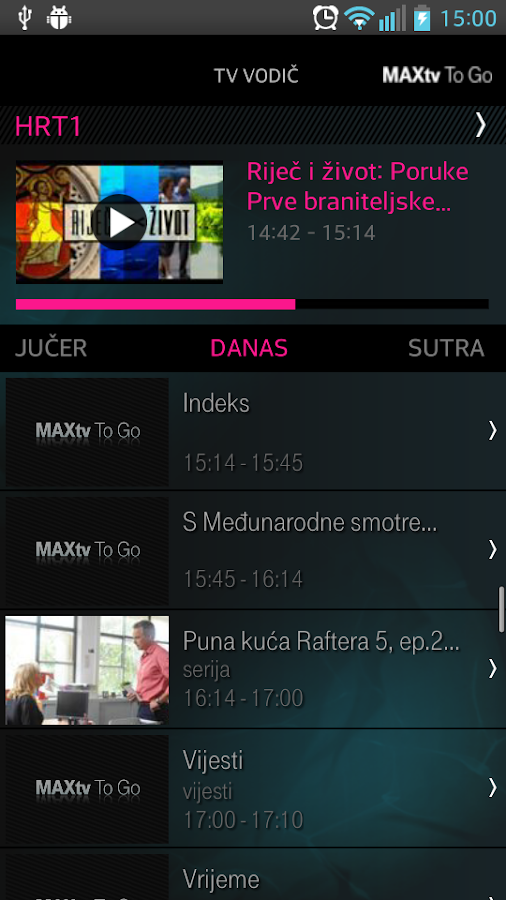 MAXtv To Go HD- screenshot