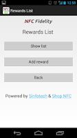 Screenshot of NFC Fidelity Free