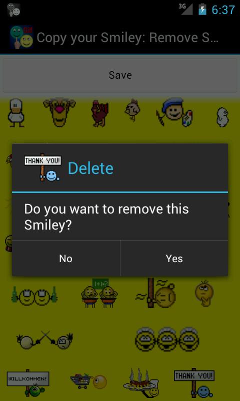 Copy your Smiley UNLOCKER - screenshot