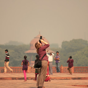 Passion brings her here by Mitrava Banerjee - People Professional People