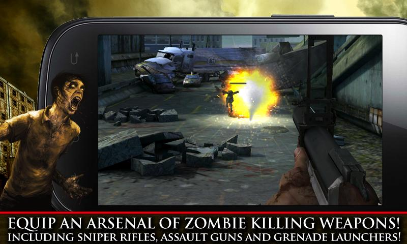 CONTRACT KILLER: ZOMBIES- screenshot