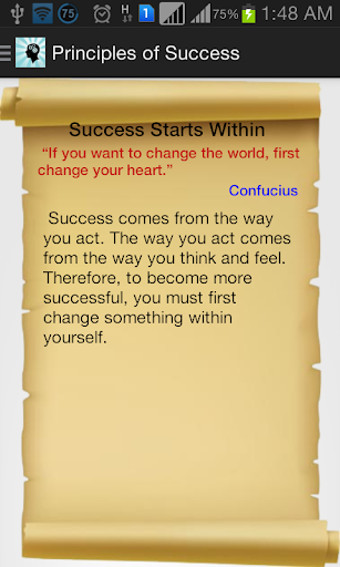 Success Thoughts