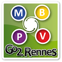 Go2 Rennes (bus, vélo, métro) logo