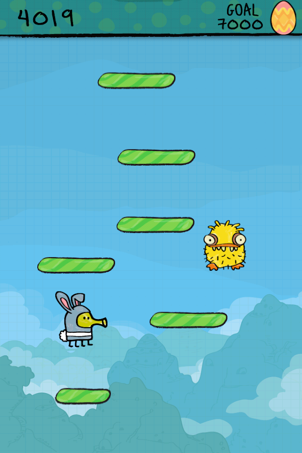 Doodle Jump Easter Special- screenshot