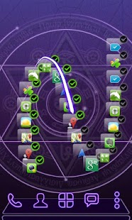 Next Launcher Theme  3D Magic Screenshot 3