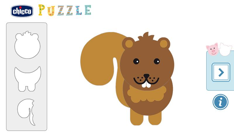 Chicco Puzzle- screenshot