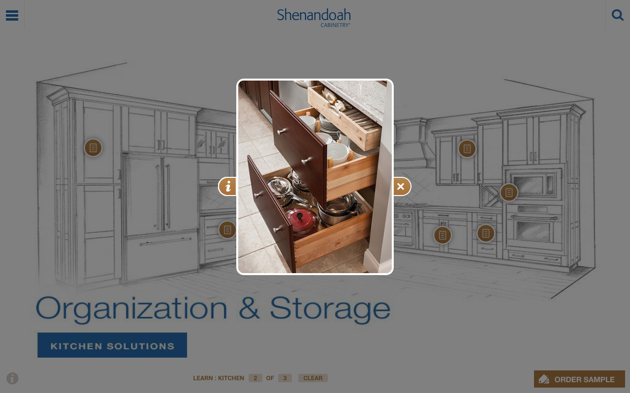 Shenandoah Cabinetry - screenshot
