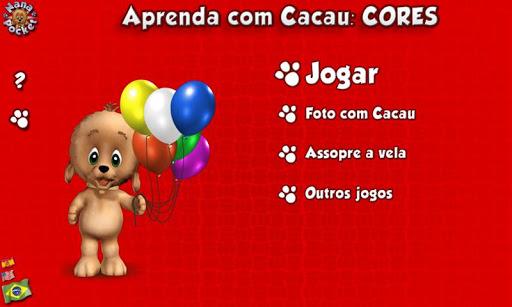 【免費教育App】Aprenda com Cacau CORES - Lite-APP點子