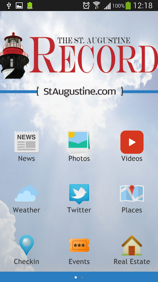 St. Augustine Record Mobile - screenshot