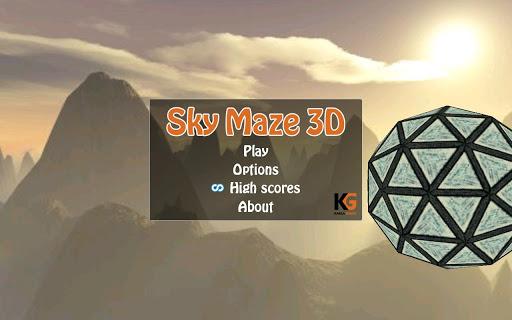 Sky Maze 3D Free