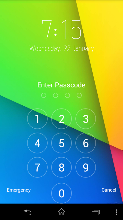 Keypad Lock - screenshot