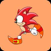sonic red run