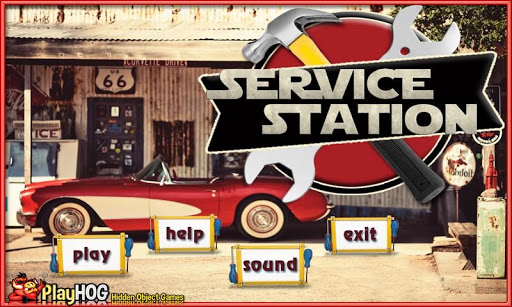 Service Station Hidden Objects