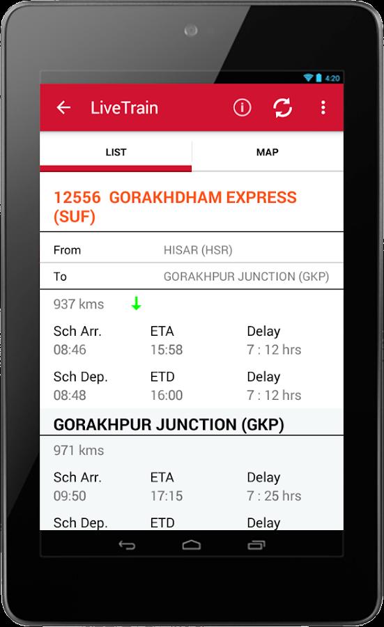 Indian Rail IRCTC & Train PNR - screenshot