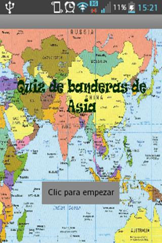 Quiz banderas Asia