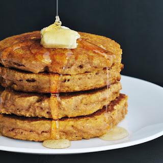 Whole Wheat Pancakes (With Vegan Option).