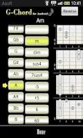 Screenshot of GChord  (Guitar Chord Finder)