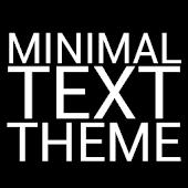 Minimal Text THEME - FREE