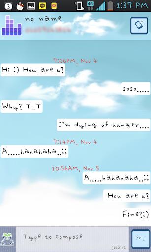 Chasinam Rest GO sms theme