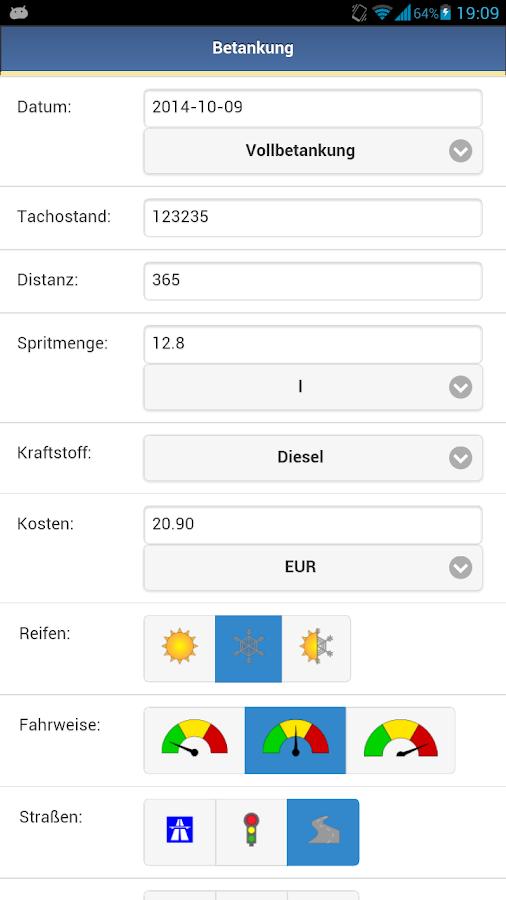 Spritmonitor.de - screenshot