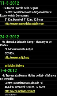 Calendario Marchas - screenshot thumbnail
