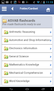 ASVAB Flashcards - screenshot thumbnail