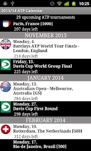 2014 ATP WORLD TOUR - screenshot thumbnail