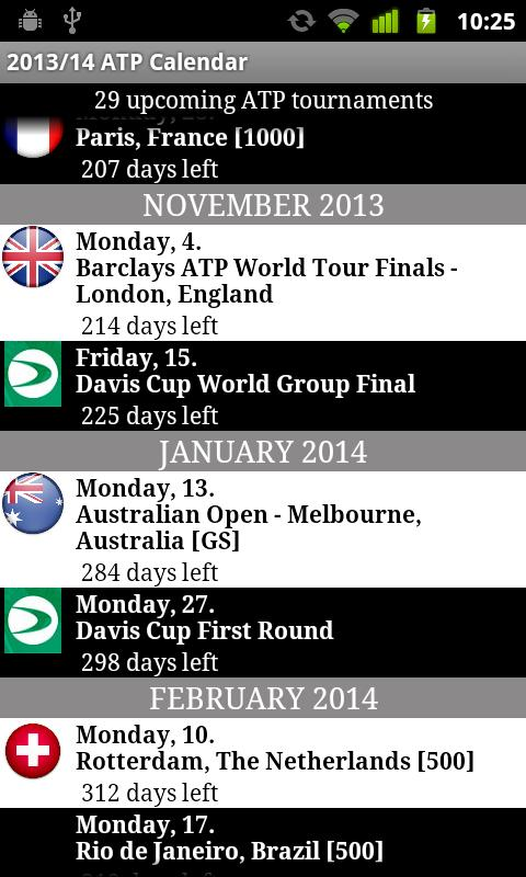 2014 ATP WORLD TOUR- screenshot