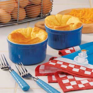 Cheese Souffles.