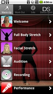 Singing for Dancers, Female - screenshot thumbnail