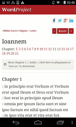 【免費社交App】Latin Bible-APP點子