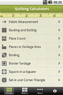 Quilting Calculators- screenshot thumbnail