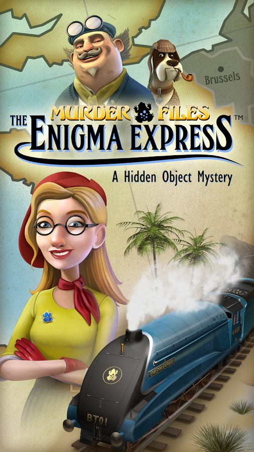 Enigma Express- screenshot