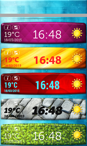 無料天气Appの温度 時計ウィジェット|記事Game