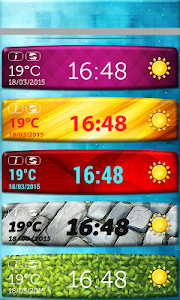 Temperature Clock Widget screenshot 3