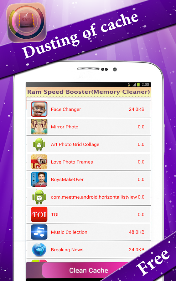Memory Cleaner- RAM Booster- screenshot