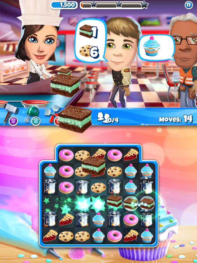 Screenshots of Crazy Kitchen for iPhone