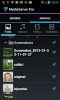 Screenshot of Media Server Pro