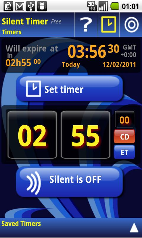 Silent Mode Timer - screenshot