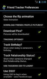 Friend Tracker (Facebook) - screenshot thumbnail