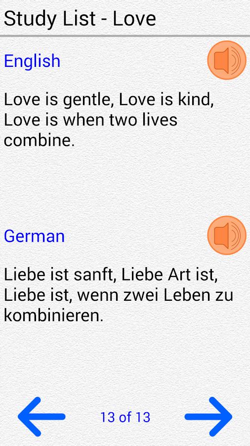 Learn German for Beginners - screenshot